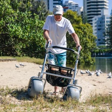 WheelEEZ® All-Terrain  Beach Rollator