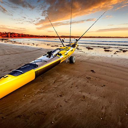 WheelEEZ® Kayak Cart Beach