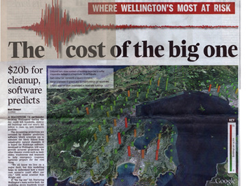 Where Wellington's Most at Risk - The Cost of the big one