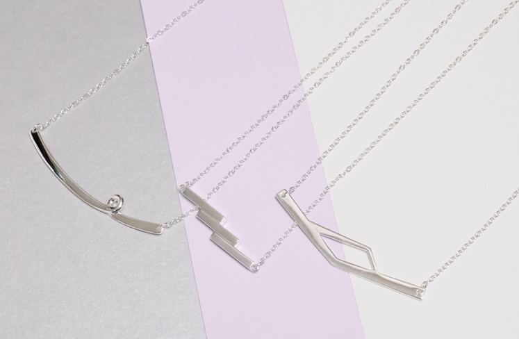 Whim Collection necklaces
