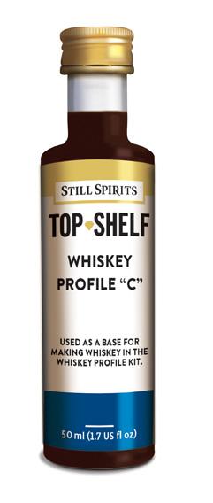 """Whiskey Profile """"C"""""""