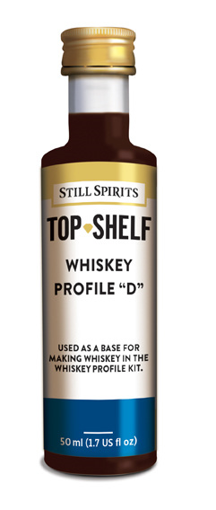 """Whiskey Profile """"D"""""""
