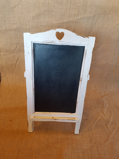 Sandwich Board White Frame - Small 67cm x 37cm