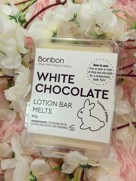 White Chocolate Solid Lotion Bar