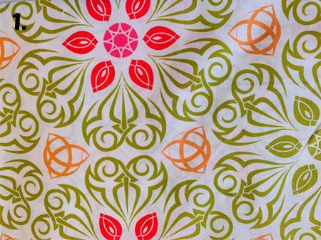 White Fabric Tones Lot 6
