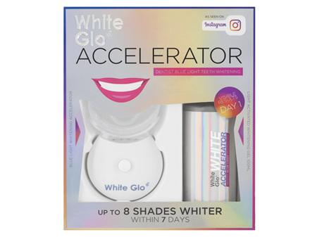 White Glo Accelerator Dentist Blue Light Teeth Whitening System