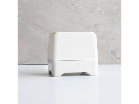 WHITE IN-SHOWER CONTAINER