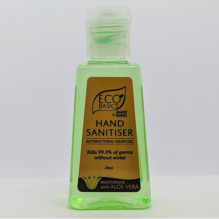 WHITE MAGIC ECO BASICS HAND SANITISER 29ML