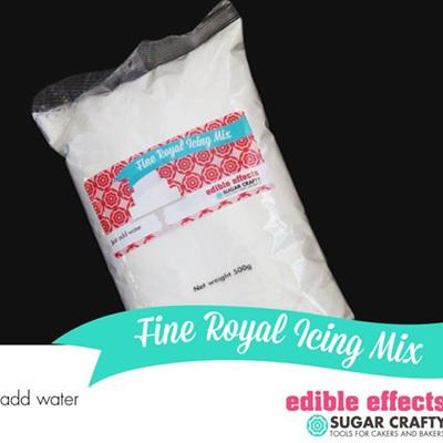 WHITE Royal Icing Sugar 500g