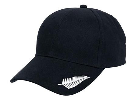 White Silver Fern Cap