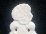 White Standing Tiki