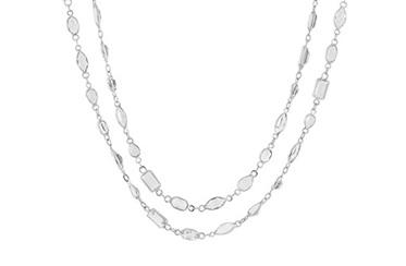 White Topaz Necklace