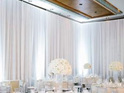 WHITE Wall Drape 7.20m Wide x 4.80m High max