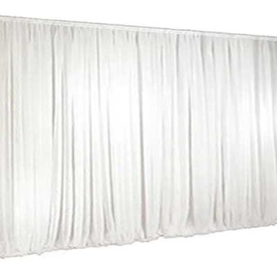 WHITE Wall Drape 7.20m Wide x 4.00m High max.
