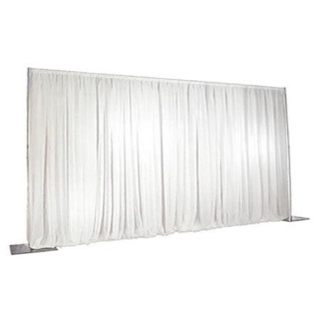 WHITE Wall Drape 7.20m Wide x 4.80m High max