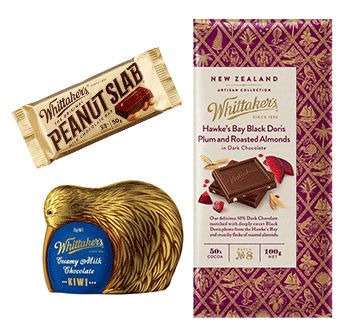 Whittaker's Peanut Slab and Artisan Range