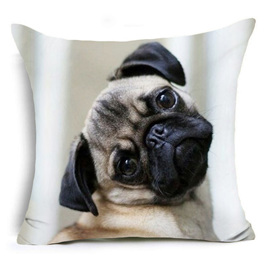 Who me?  Not me! Dog Cushion Cover