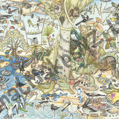Wicked Wildlife Jigsaw 500 pieces