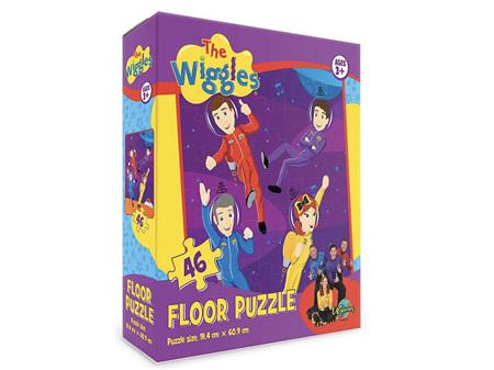 Wiggles 46 Piece Floor Puzzle