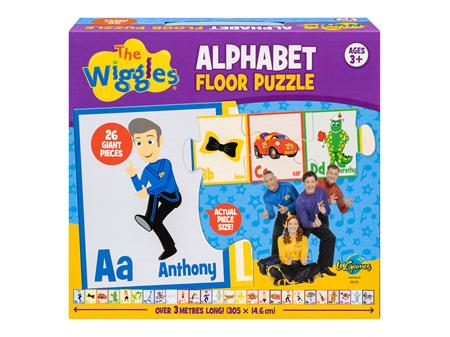 Wiggles Alphabet Floor Puzzle