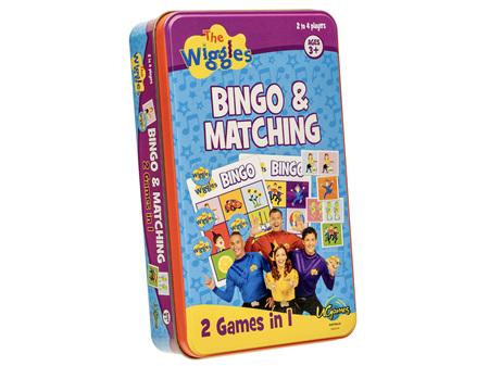 Wiggles Bingo & Matching Game in a Tin