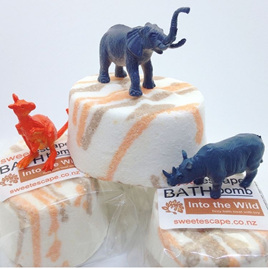 Wild Animal Bath Bomb - Sweet Orange