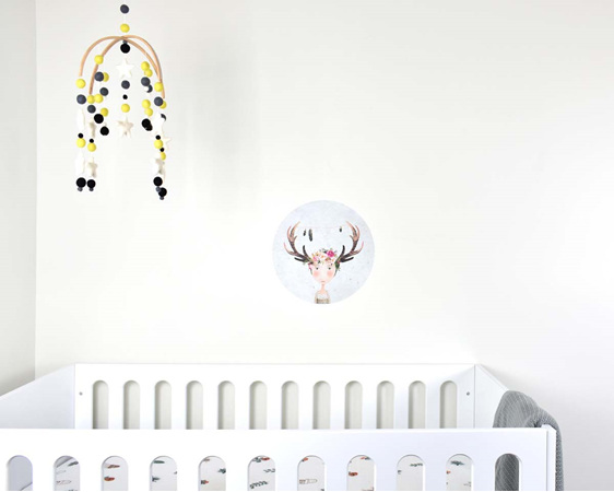 Wild animal wall decal