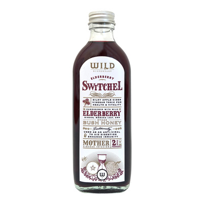 Wild Dispensary Elderberry Switchel 200ml