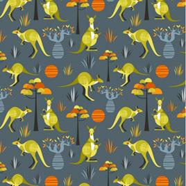 Wild & Free Kangaroo Grey NT11730101