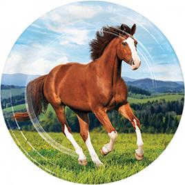 Wild Horses Dinner Plates