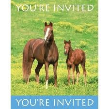 Wild Horses Invites