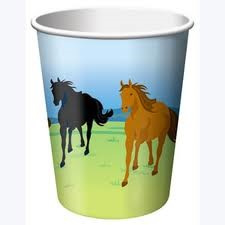 Wild Horses Party Cups