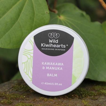 Wild Kiwihearts Kawakawa & Manuka Balm 45ml