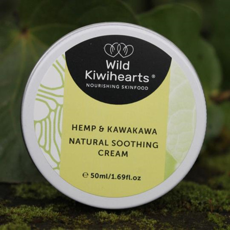 Wild Kiwihearts Natural Soothing Cream 50ml