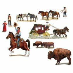 Wild West Characters Cutout
