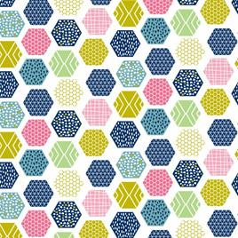 Wildflower Honey Hexagon Multi NT80270104