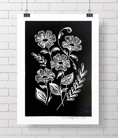 Wildflower original prints
