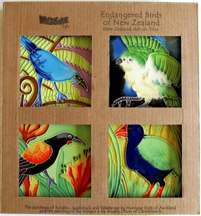 WILDSIDE CERAMIC COASTERS