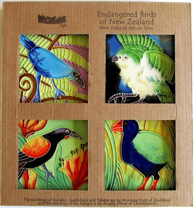 Wildside Ceramic Tile Coasters