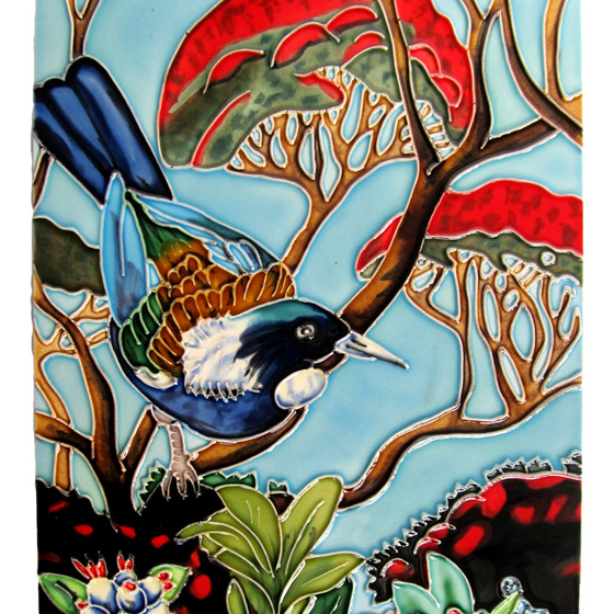 WILDSIDE GIFTS CERAMIC WALL ART