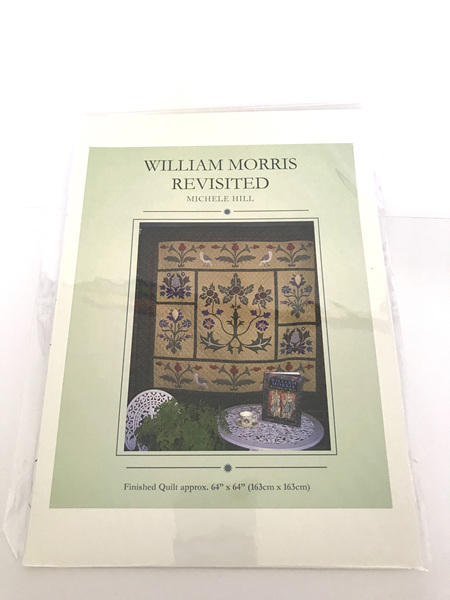 William Morris Revisted Applique Quilt Pattern