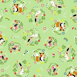 Willow Circles Green NT80250102