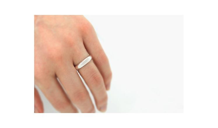 Wilshi Secret Proposal Ring on Hand