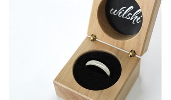Wilshi Secret Proposal Ring with Box