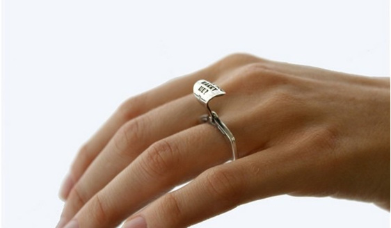 Wilshi™ Tear Tab Ring