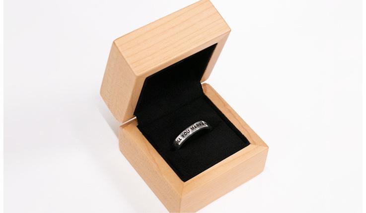 Wilshi the proposal ring - Modern