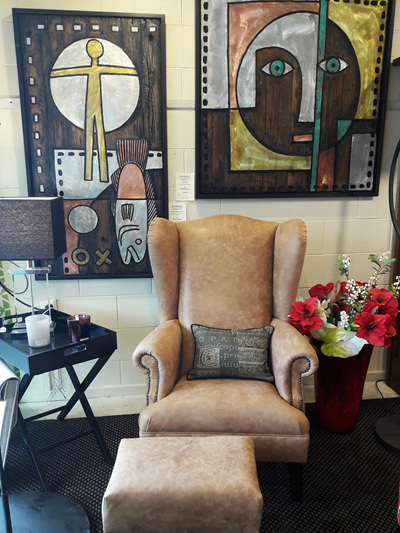 Wilton Wingback Chair