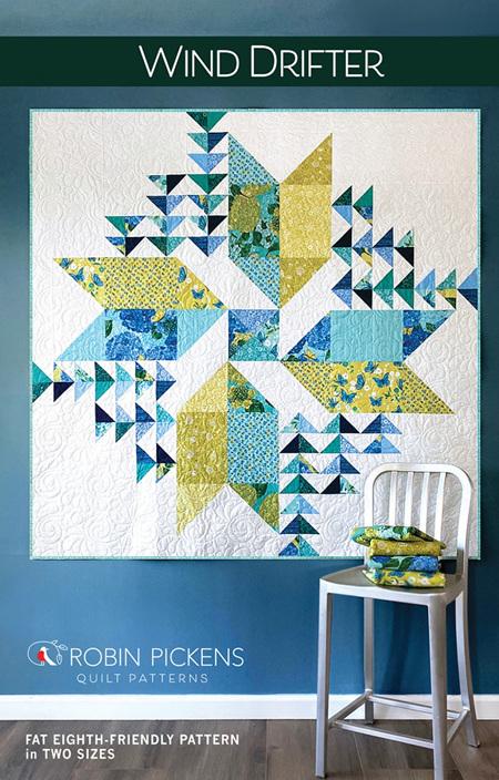 Wind Drifter Quilt Pattern from Robin Pickens