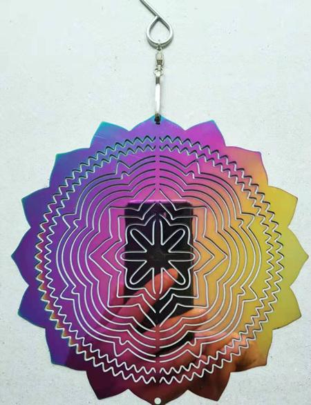 Wind Spinner Mandala