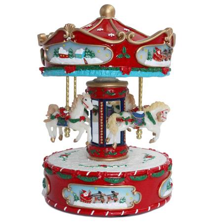 Wind up carousel